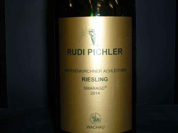 Rudi Pichler Riesling Smaragd Achleithen 2014 -Restmenge-