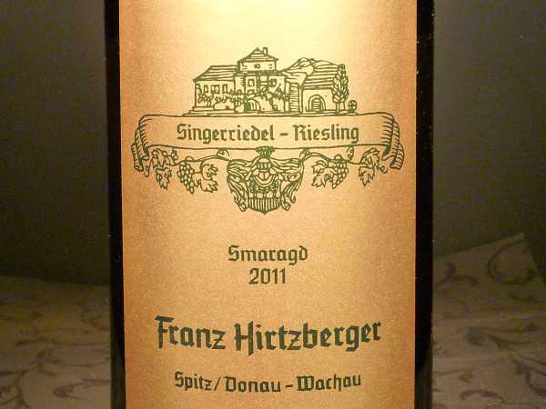 Hirtzberger Singerriedel Riesling Smaragd Spitz-Donau Wachau 2017