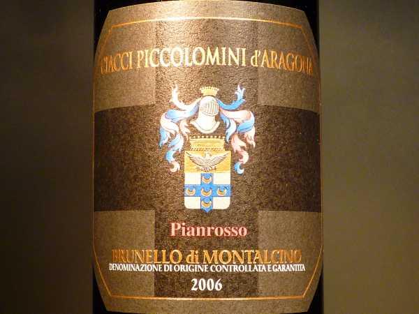Brunello di Montalcino Ciacci Piccolomini Vigna di Pianrosso 2012 (limitiert 3 Fl)