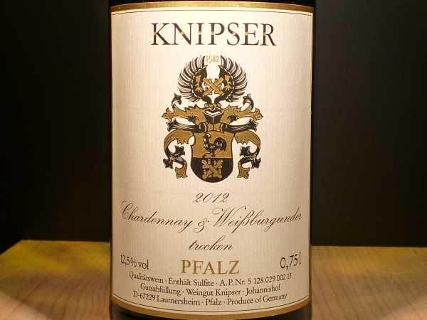 Knipser Chardonnay & Weißburgunder trocken 2017