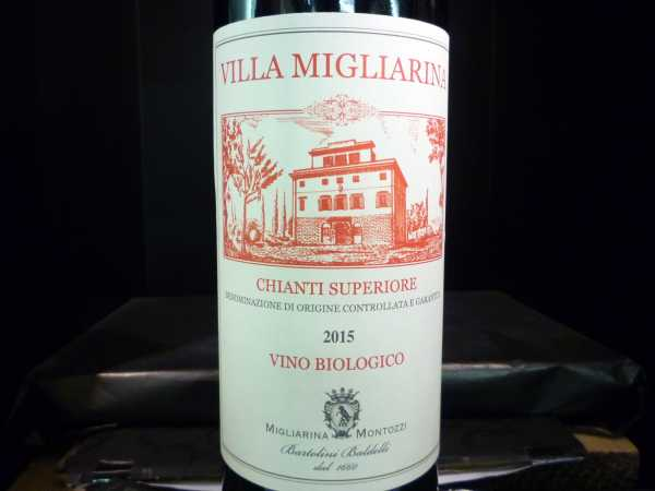 Villa Migliarina Chianti Superiore Bio 2017