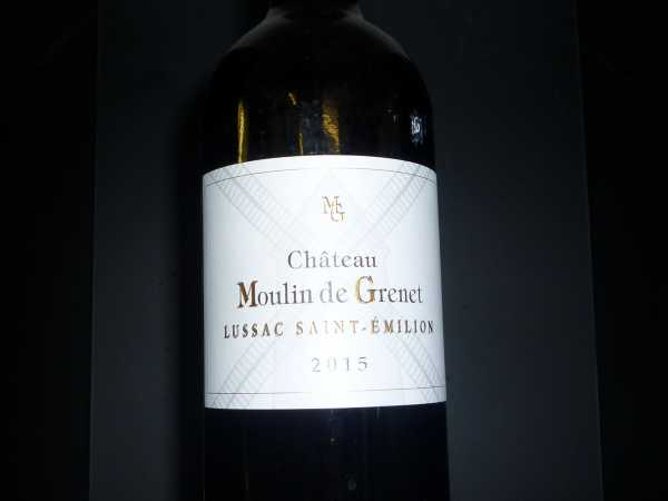 Chateau Moulin de Grenet 2015