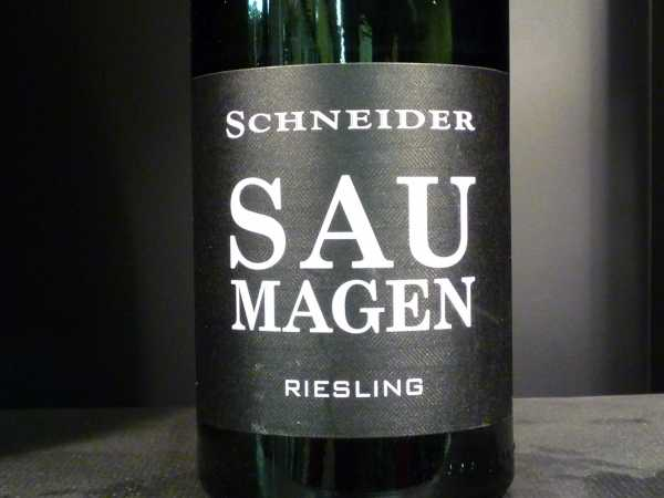 Schneider Markus Riesling Saumagen 2017