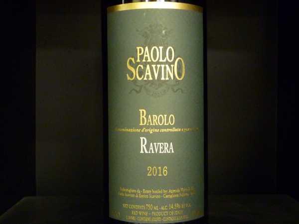 """Paolo Scavino """"Ravera"""" Barolo DOCG 2016"""