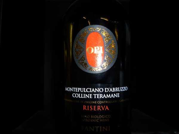 Farnese Opi Montepulciano d´Abruzzo Ris. Colline Teramane 2012