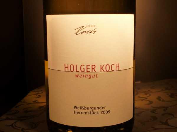 Holger Koch Weißburgunder Herrenstück 2016