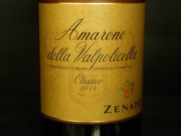 Amarone della Valpolicella Classico Zenato 2014 0,375 -Restmenge-