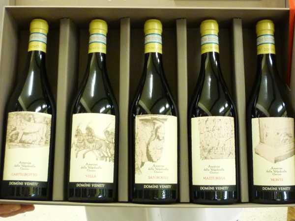 Domini Veneti Amarone Valpolicella Classico DOC Espressioni Set 5x 75 cl 2008