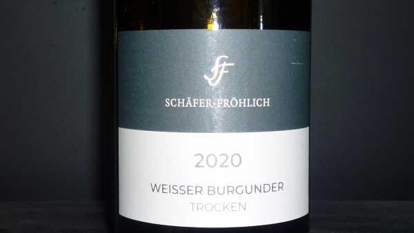 Schäfer-Fröhlich Weisser Burgunder 2020 trocken