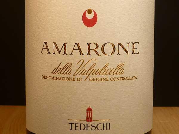 Fratelli Tedeschi Amarone della Valpolicella Classico 2015