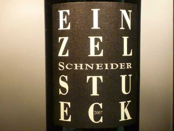 Schneider Einzelstück Portugieser 2014 -Restmenge-
