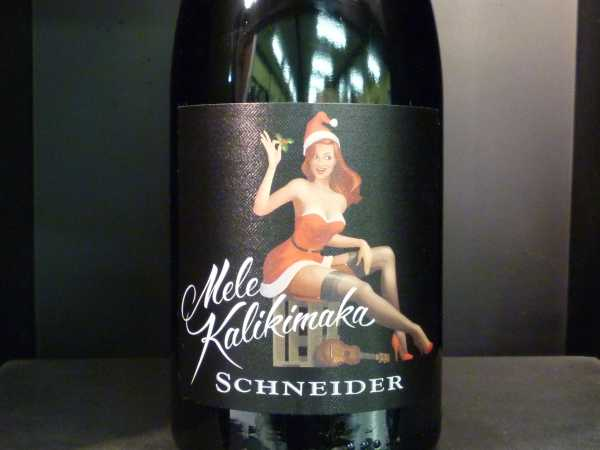 Schneider Markus Mele Kalikimaka Rotwein trocken 2016 -Restmenge-