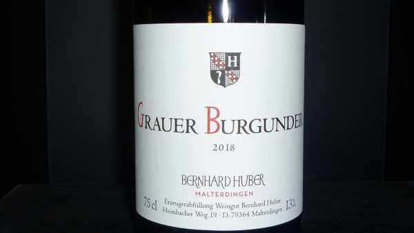 Bernhard Huber Grauer Burgunder trocken 2018