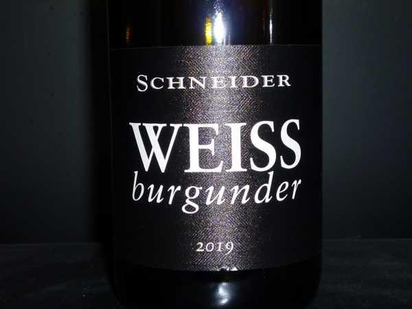 Schneider Markus Weissburgunder 2019