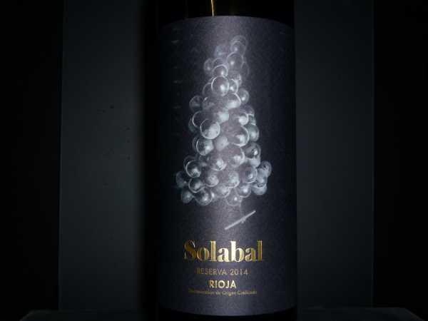 Solabal Reserva 2014