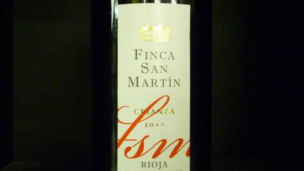 Finca San Martin Crianza Torre de Ona Rioja-Alavesa 2012