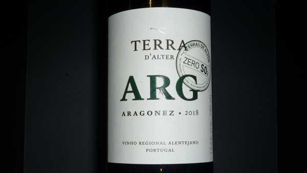 Terra d´Alter Aragonez Alentejano 2018