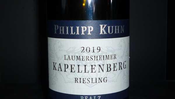 Philipp Kuhn Riesling Kapellenberg Alte Reben Erste Lage trocken 2019