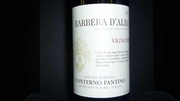 Conterno Fantino Barbera Vignota 2014 -Restmenge-