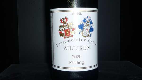 Forstmeister Geltz Zilliken Riesling 2020