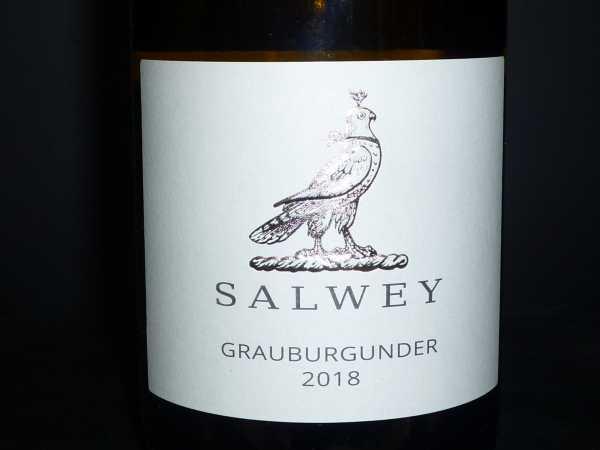 Salwey Grauburgunder Kabinett trocken 2018