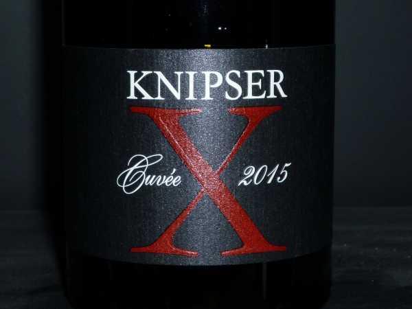 Knipser Cuvee X Barriqueausbau 2015