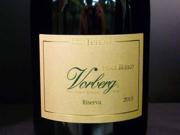 "Terlan Pinot Bianco Riserva ""Vorberg"" Alto Adige doc 2016"