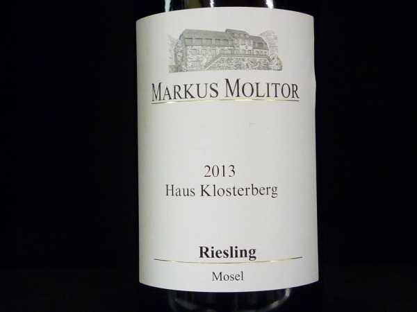 Markus Molitor Riesling Haus Klosterberg 2016