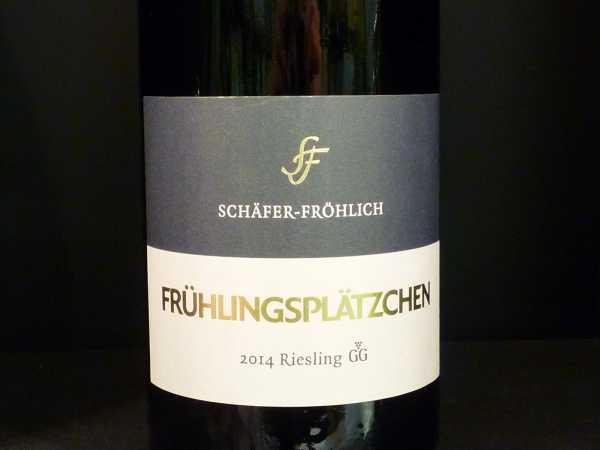 """Schäfer-Fröhlich Riesling Großes Gewächs """"Frühlingsplätzchen"""" 2015 Restmenge"""