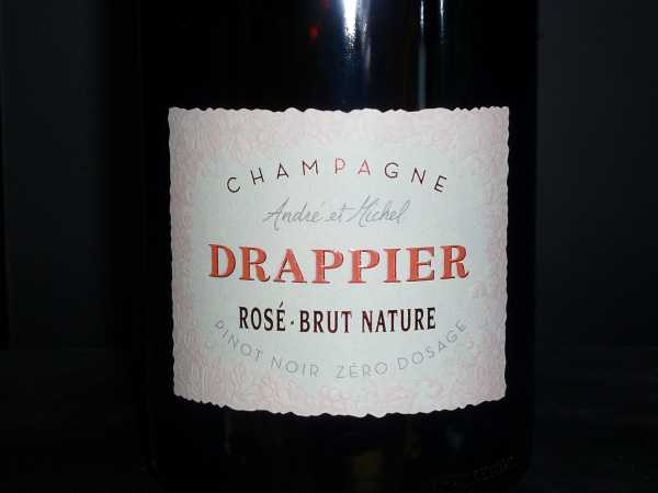 Drappier Rose Brut Nature