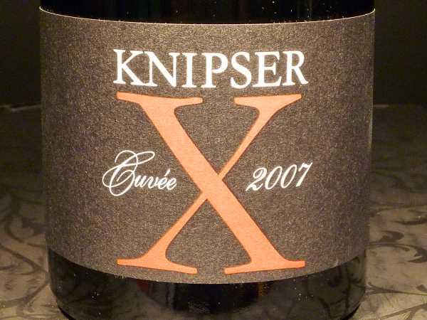 Knipser Cuvee X Barriqueausbau 2014