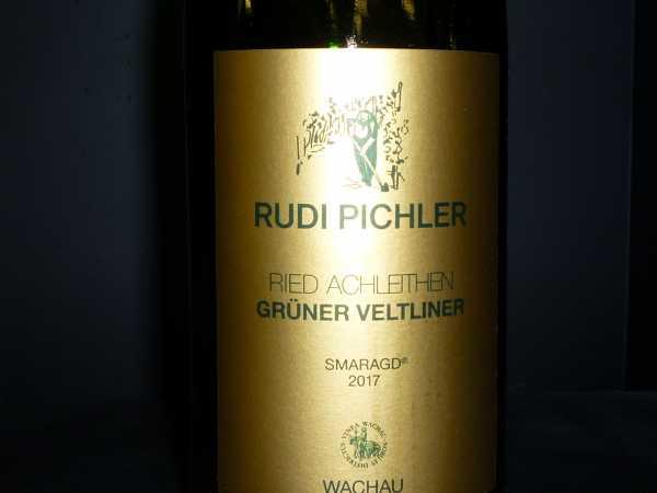 Rudi Pichler Grüner Veltliner Smaragd Achleithen 2017 -Restmenge-