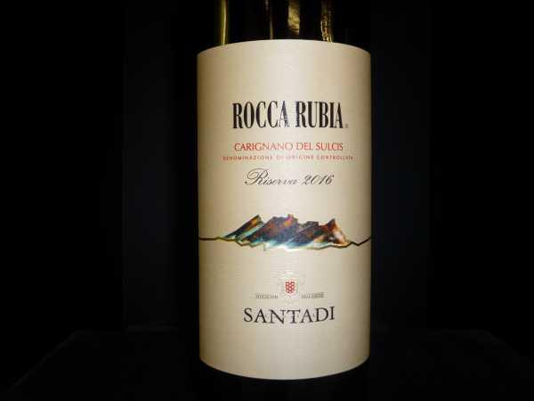 Santadi Rocca Rubia Magnum 2016
