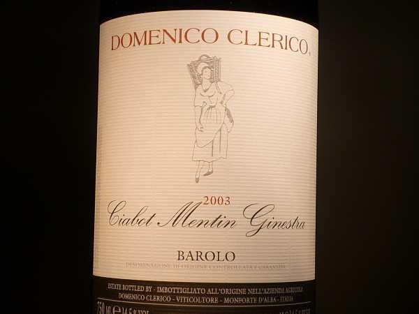 Barolo Clerico Ciabot Mentin Ginestra Magnum 2005 -Restmenge-