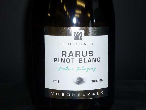 Mario J. Burkhart Rarus Pinot Blanc GJ 2016