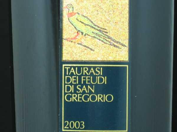 Feudi di San Gregorio Taurasi Aglianico 2013