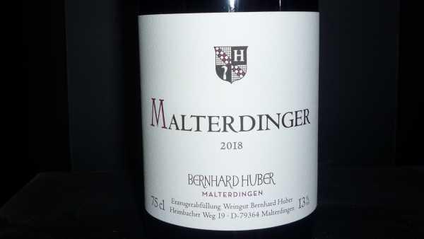 Bernhard Huber Malteringer Spätburgunder Rotwein 2018