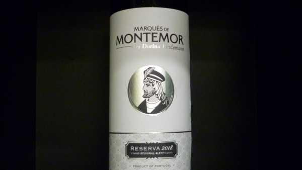 Marques de Montemor tinto Reserva 2018