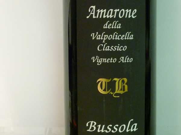 Bussola Amarone Vigneto Alto TB 2003