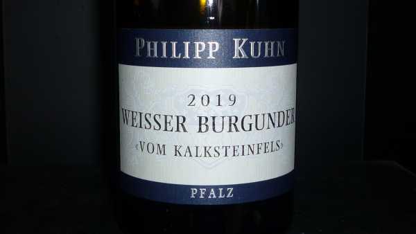 Philipp Kuhn Weisser Burgunder vom Kalksteinfels 2019