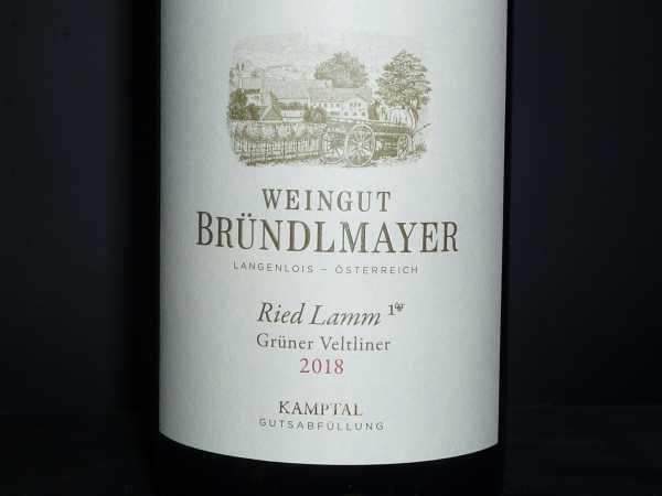Bründlmayer Grüner Veltliner Ried Lamm -Bio- 2018