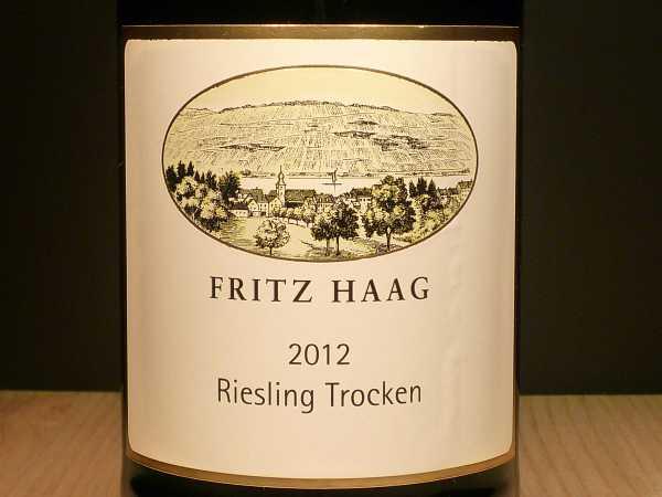 Fritz Haag Riesling trocken 2018