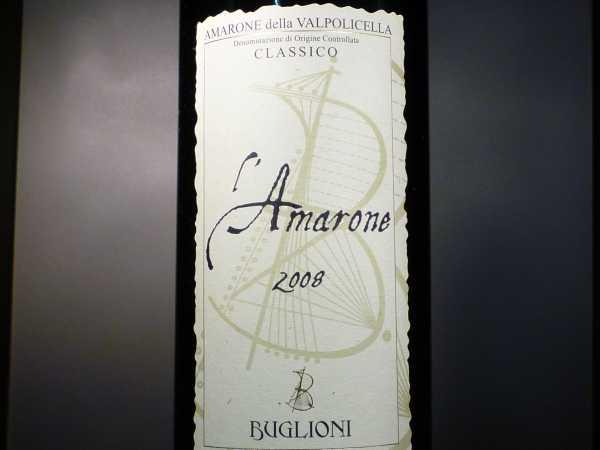 Amarone Classico Buglioni 2015