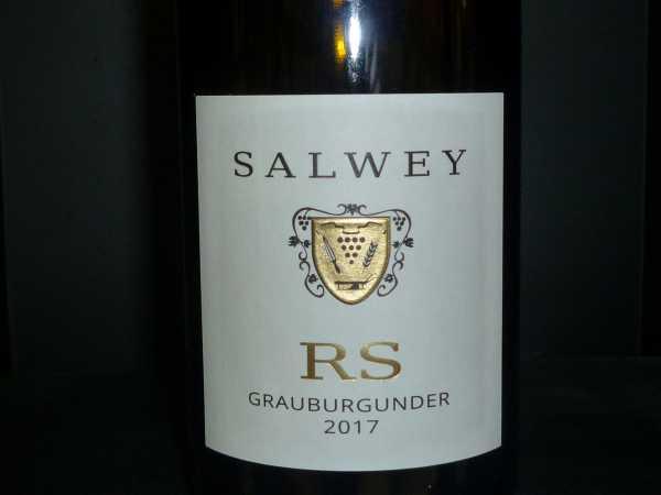 Salwey Grauburgunder RS trocken 2017