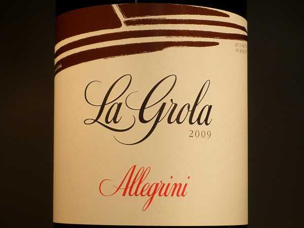 Allegrini La Grola Veronese 2013 -Restmenge-
