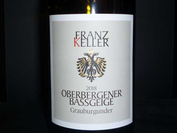 Franz Keller Oberbergener Baßgeige Grauburgunder 2018