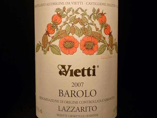 Vietti Barolo Lazzarito 2012 -Restmenge-