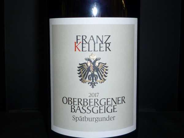Franz Keller Oberbergener Baßgeige Spätburgunder VDP 2017