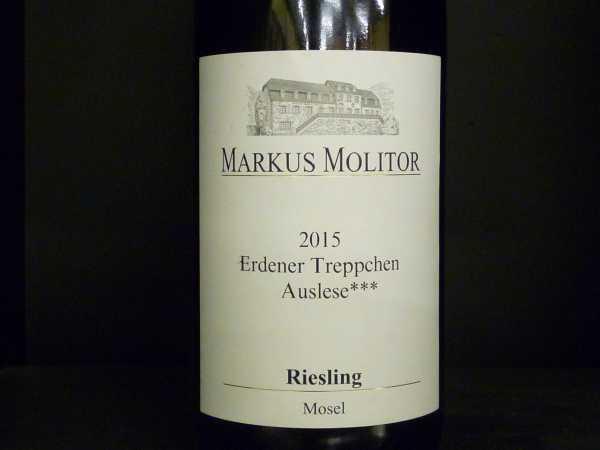 Markus Molitor Erdener Treppchen Riesling Auslese***2015
