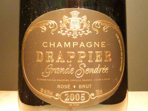 Drappier Cuvee Grand Sendree Rosé 2010